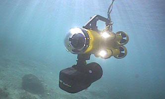 Guardian 2.1 sous l'eau avec BlueView 3