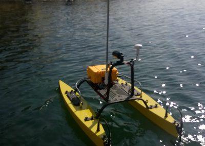 catarob de dos sur l'eau