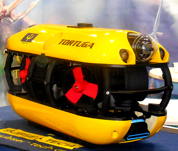 New TORTUGA ROV from Subsea Tech at Oceanology 2018