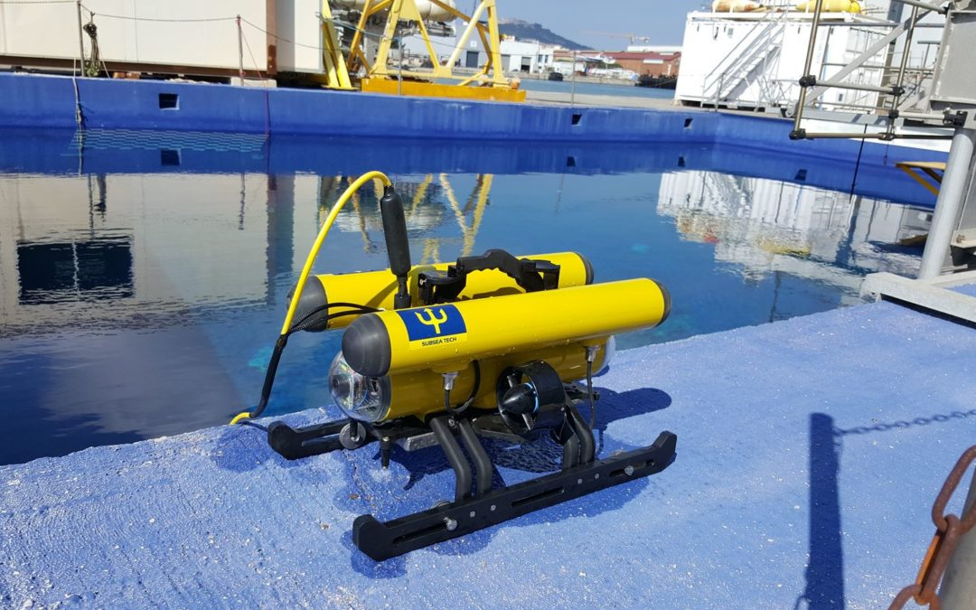 Multi-sensor academic ROV for French robotics laboratory