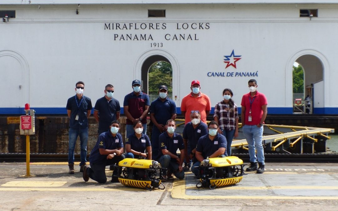 Tortuga ROVs in Panama: the Mighty Mini serves the big ships!
